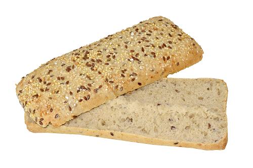 Mary Jane Sandwich aux graines de chanvre, tranché