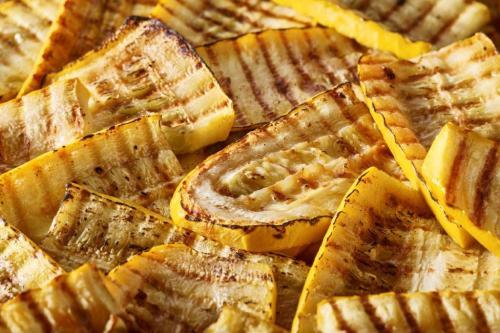 Courgettes jaunes grillées surgelées