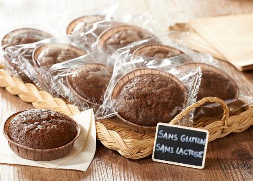 Moelleux au chocolat et tartelette aux pommes gluten et lactose free