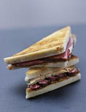 Croque canard fermier des Landes au foie gras