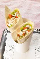 Wraps poulet avocat Boursin
