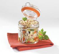 Brunoise de légumes croquants au quinoa gourmand