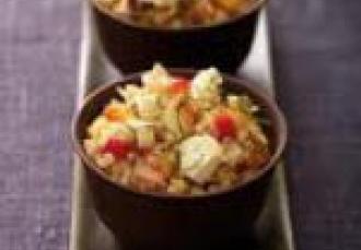 Quinoa fruité au Chabichon du Poitou