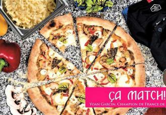 #LaPizzaDesBleus par Yoann Garcin, Champion de France de Pizza 2017