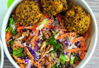 Croquettes de quinoa aux légumes, Dubble