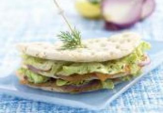 Sandwich Scandinave à l'aneth