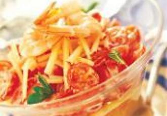Salade de tomates de France au yaourt