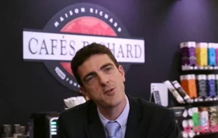 Europain 2016 : Cafés et boissons chaudes avec Cafés Richard