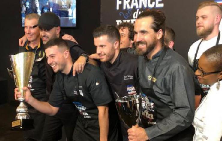 Antony Verset avec le Chaillet, Champion de France du Burger 2019!
