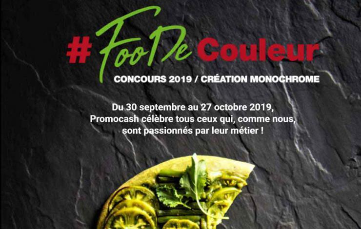 #FooDeCouleur de Promocash : vous avez jusqu'au 27 octobre pour postuler!