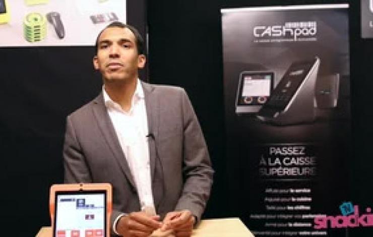 Europain 2016 : L'informatique et les technologies avec Cashpad