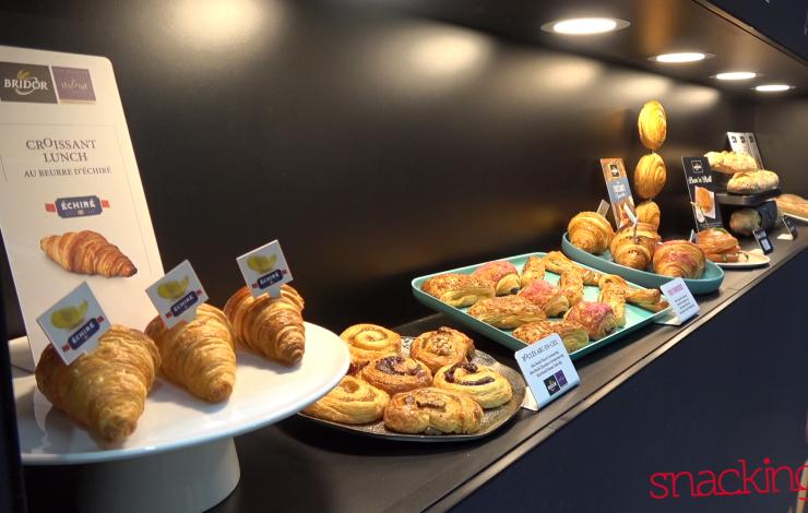 SIRHA 2017 : L'innovation de la boulangerie-pâtisserie française avec BRIDOR