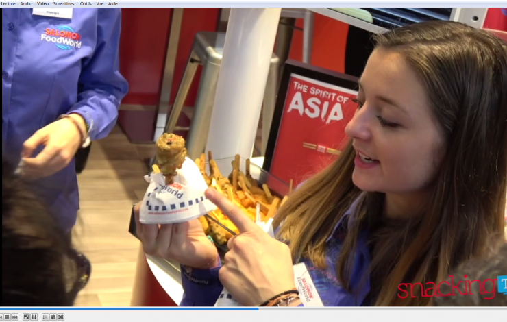 SIRHA 2017 : Burgers et finger-food d'inspiration asiatique grâce à SALOMON FOODWORLD