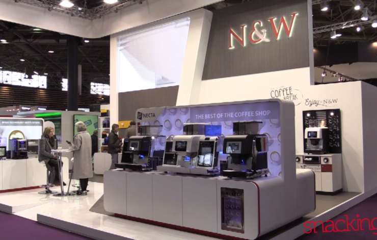SIRHA 2017 : La distribution automatique de boissons chaudes avec N&W GLOBAL VENDING