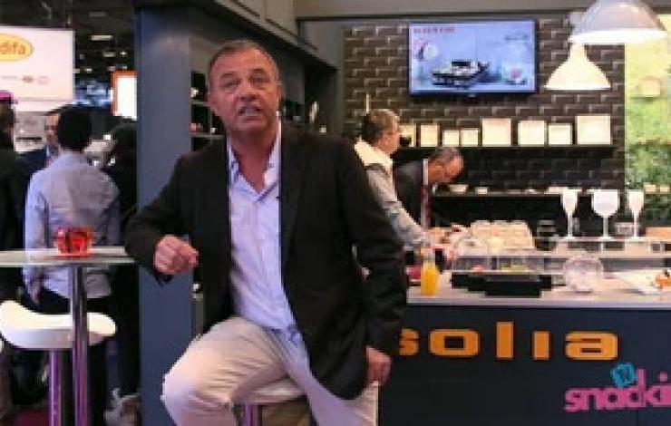 Europain 2016 : L'usage unique et l'emballage avec Solia