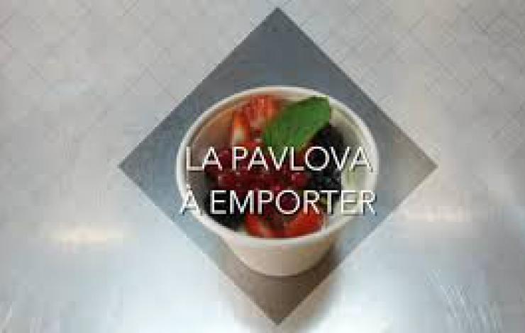 la recette de la pavlova à emporter, un must eat snacking !