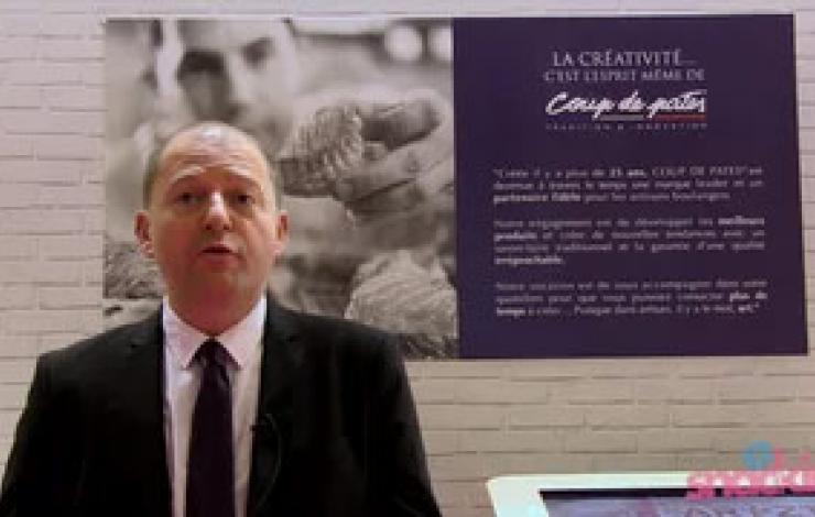 Europain 2016 : Panification, pâtisseries et traiteur avec Coup de pates